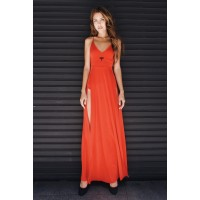 Drugonfly Red Maxi Dress